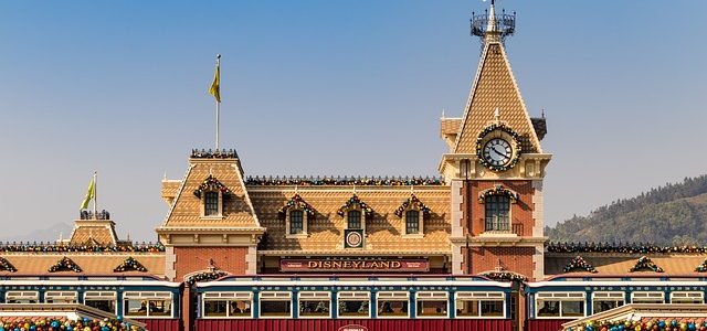 Enjoyment at Disneyland